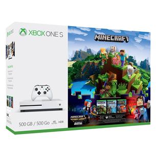 Mängukonsool Microsoft Xbox One S Minecraft Complete Adventure Bundle (500 GB)