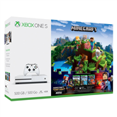 Mängukonsool Microsoft Xbox One S Minecraft Complete Adventure Bundle (500 GB)