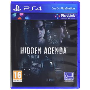 PS4 mäng Hidden Agenda
