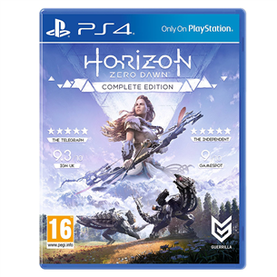 PS4 mäng Horizon Zero Dawn Complete Edition