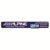 8 subwoofer with enclosure Alpine SBG-844BR