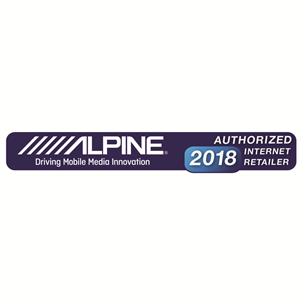 "10"" subwoofer with enclosure Alpine SBG-1044BR"
