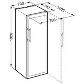 Винный шкаф Vinidor, Liebherr / высота: 192 см