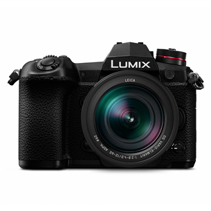 Гибридная фотокамера Panasonic Lumix G9 + объектив Leica VR 12-60 мм