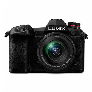 Hübriidkaamera Panasonic Lumix G9 + objektiiv Lumix G VARIO 12-60 mm