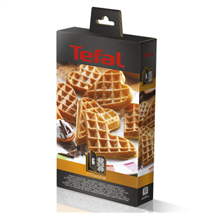 Heart-shaped waffle set for Tefal Snack Collection XA800612