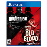 PS4 game Wolfenstein: Double Pack