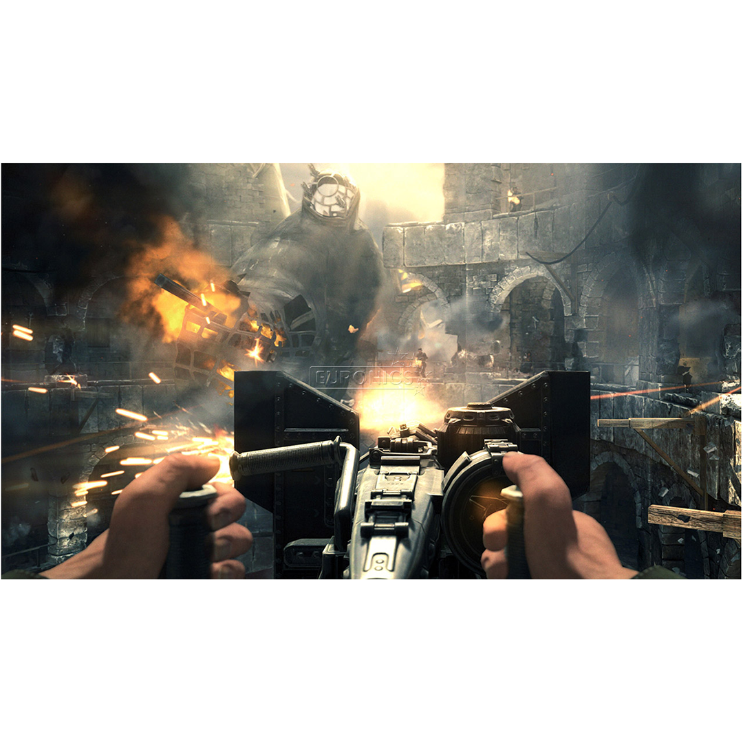 PS4 mäng Wolfenstein: Double Pack
