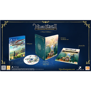 PS4 mäng Ni No Kuni II: Revenant Kingdom Princes Edition