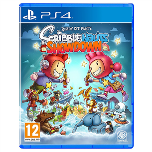 PS4 mäng Scribblenauts Showdown