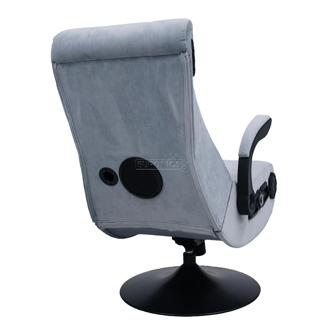 Sammenlign priser og læs anmeldelser af Gear4U gaming stol sort rød.