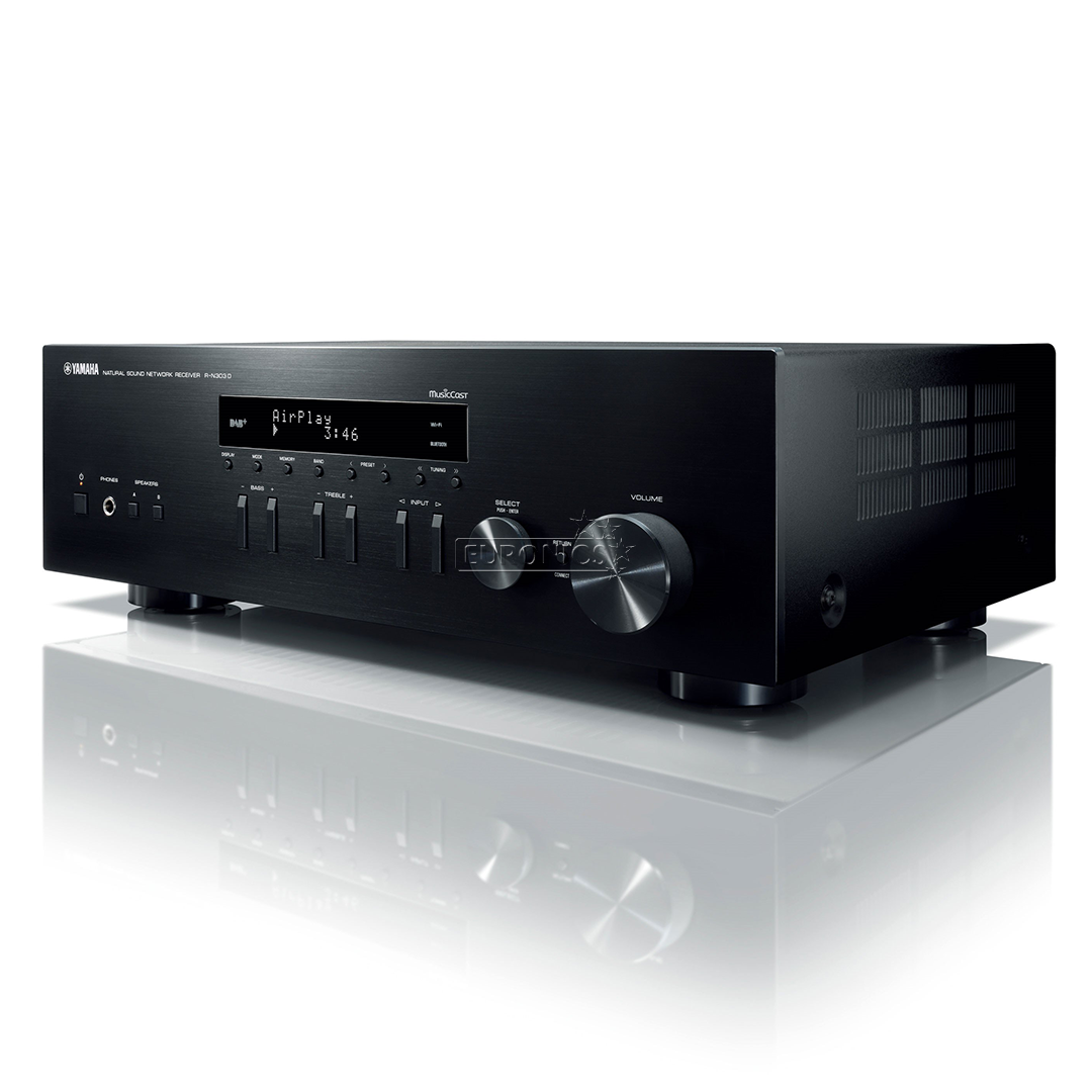 stereo receiver yamaha r n303d r n303d. Black Bedroom Furniture Sets. Home Design Ideas