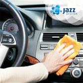 Auto sisepuhastus Jazz Käsipesulates