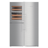Refrigerator Side-by-Side PremiumPlus, Liebherr / height: 185 cm