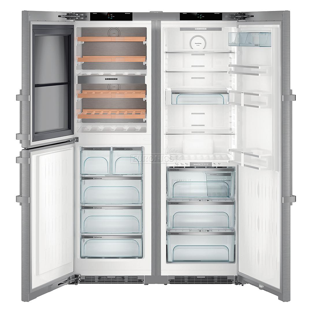 Refrigerator Side By Side Premiumplus Liebherr Height