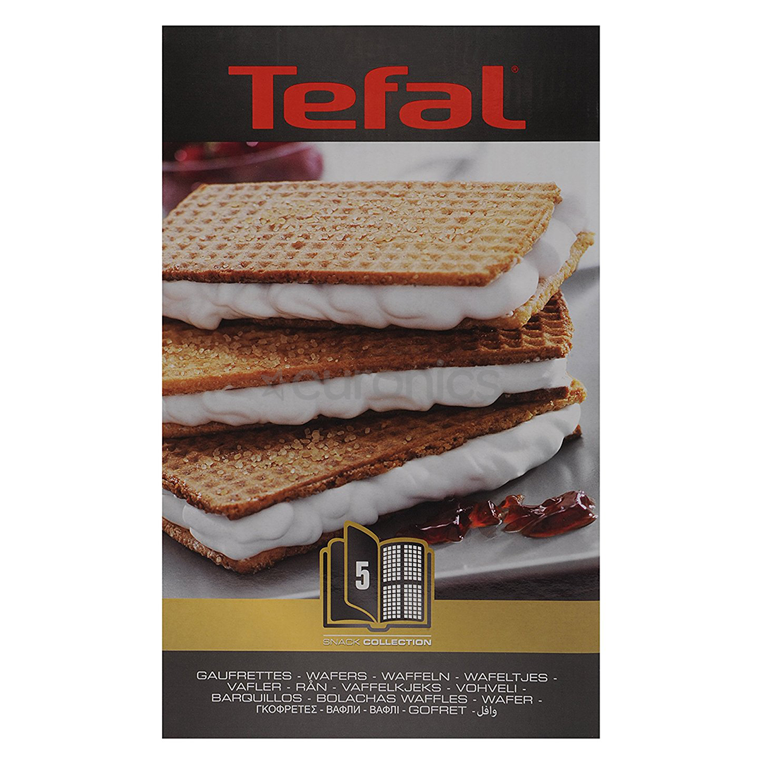 Ungdommelige Wafer set for Tefal Snack Collection, XA800512 XU78