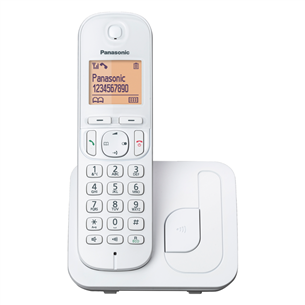 Cordless phone Panasonic KX-TGC210FXW