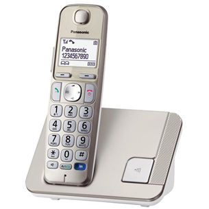Wireless DECT phone, Panasonic KX-TGE210FXN
