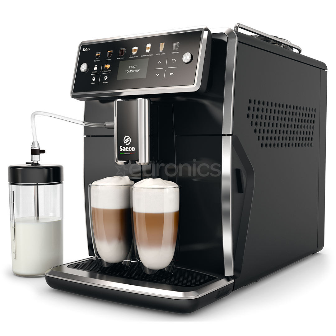 espresso machine saeco xelsis philips sm7580 00. Black Bedroom Furniture Sets. Home Design Ideas