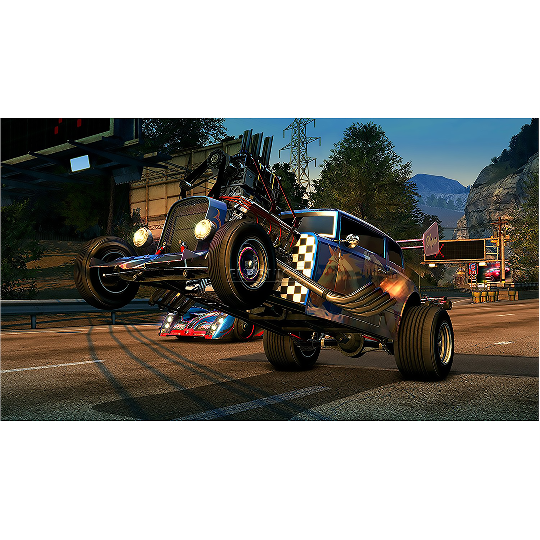 Xbox One game Burnout Paradise Remastered