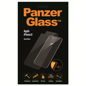 iPhone 8 tagakülje kaitseklaas PanzerGlass