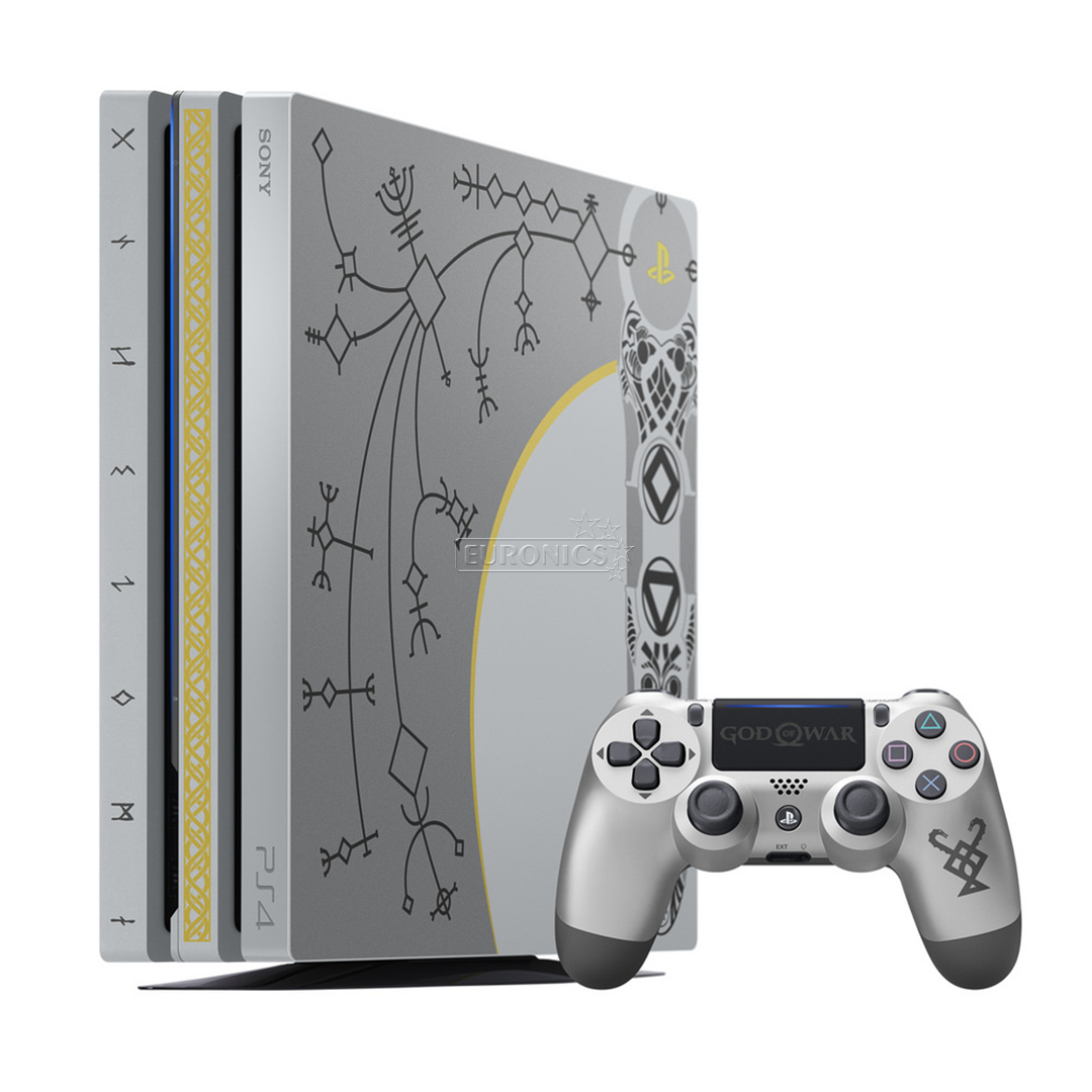 Gaming console sony playstation 4 pro god of war limited edition 711719382171 - Ps3 limited edition console ...