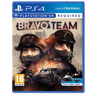 PS4 VR mäng Bravo Team