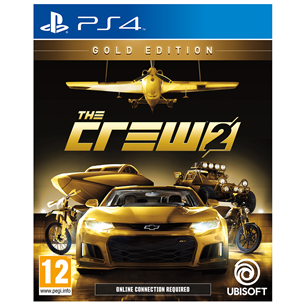 PS4 mäng The Crew 2 Gold Edition (eeltellimisel)