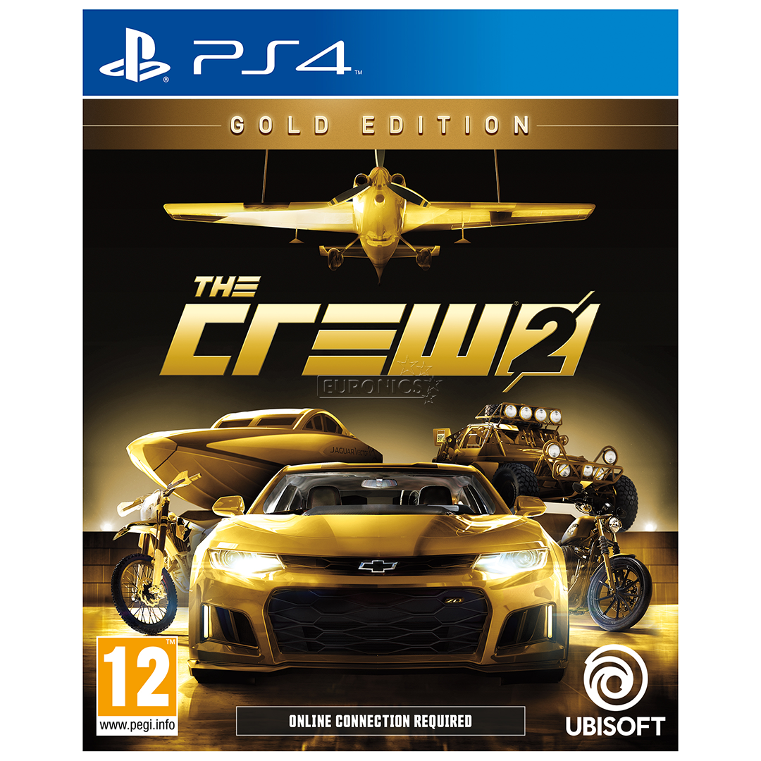 ps4 m ng the crew 2 gold edition eeltellimisel ps4crew2g. Black Bedroom Furniture Sets. Home Design Ideas