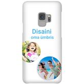Матовый чехол с заказным дизайном для Galaxy S9 / Snap