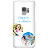 Глянцевый чехол с заказным дизайном для Galaxy S9 / Snap