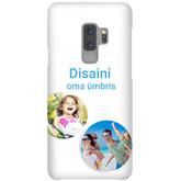 Матовый чехол с заказным дизайном для Galaxy S9+ / Snap