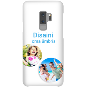 Disainitav Galaxy S9+ läikiv ümbris / Snap