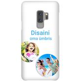 Глянцевый чехол с заказным дизайном для Galaxy S9+ / Snap
