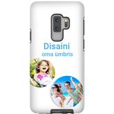 Чехол с заказным дизайном для Galaxy S9+ / Tough (глянцевый)