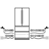 Built-in refrigerator Liebherr (203 cm)