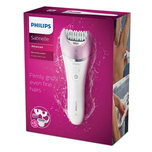 Märg- ja kuivkasutusega epilaator Philips Satinelle Advanced
