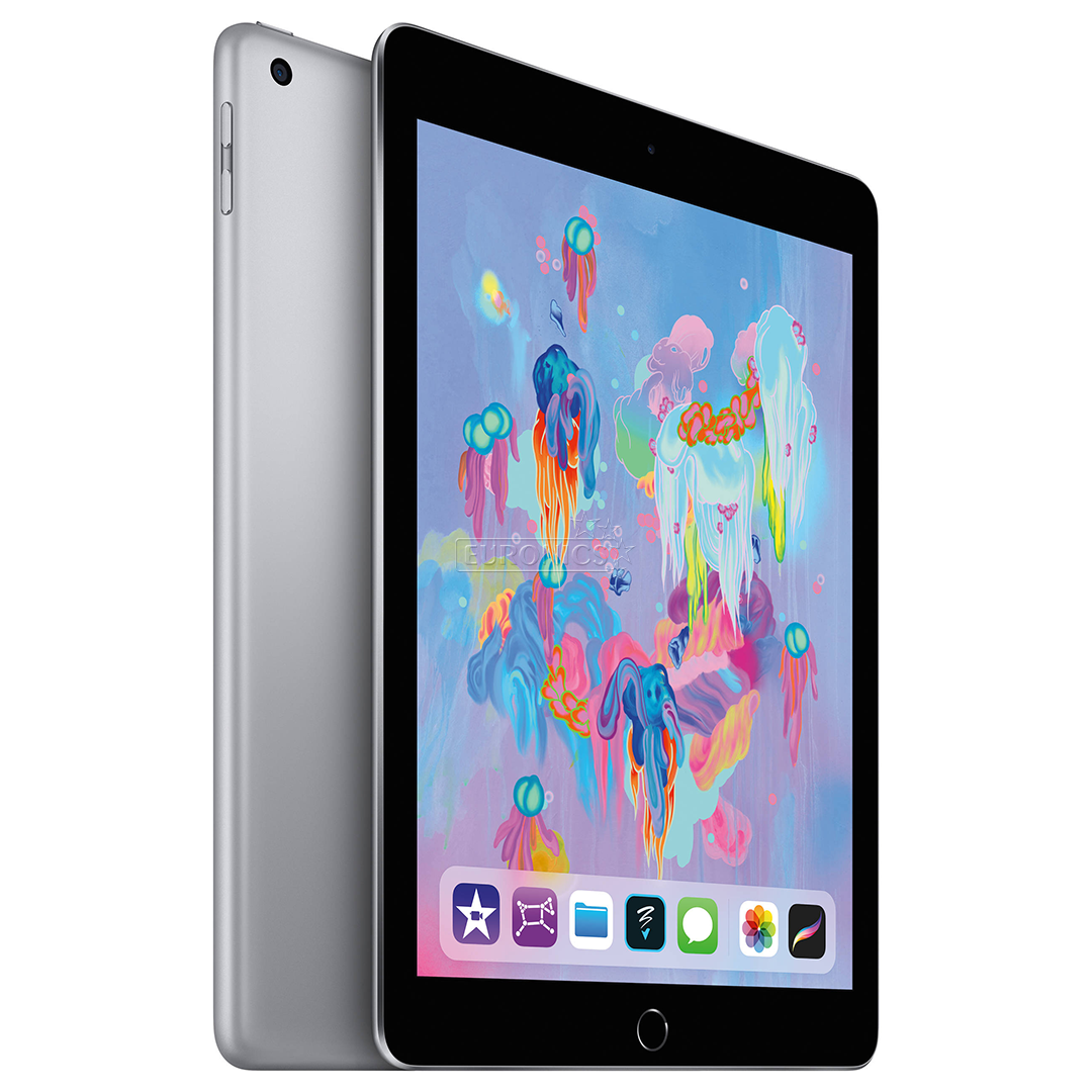 tablet apple ipad 9 7 wifi 2018 128 gb mr7j2hc a. Black Bedroom Furniture Sets. Home Design Ideas