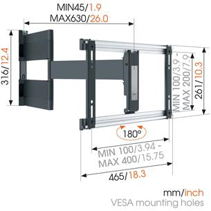 """Настенное крепление для OLED-телевизора Vogels (40-65"""")"""