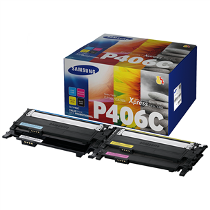 Toonerite komplekt Samsung CLT-P406C Rainbow Kit