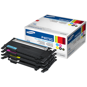 Комплект картриджей Samsung CLT-P4072C Rainbow Kit SU382A
