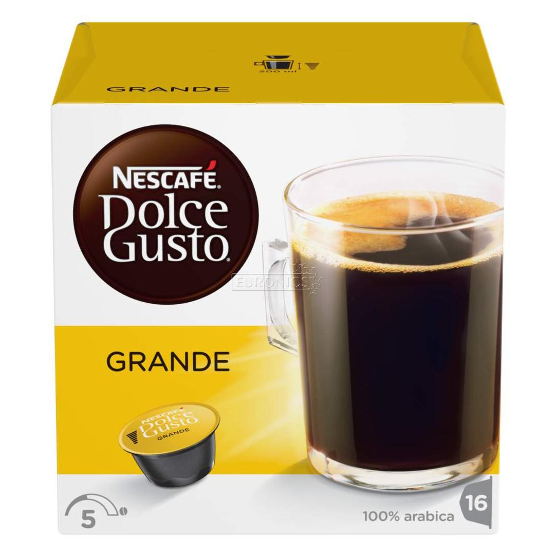 coffee capsules nescafe dolce gusto ndg grande nestle 7613032584573. Black Bedroom Furniture Sets. Home Design Ideas