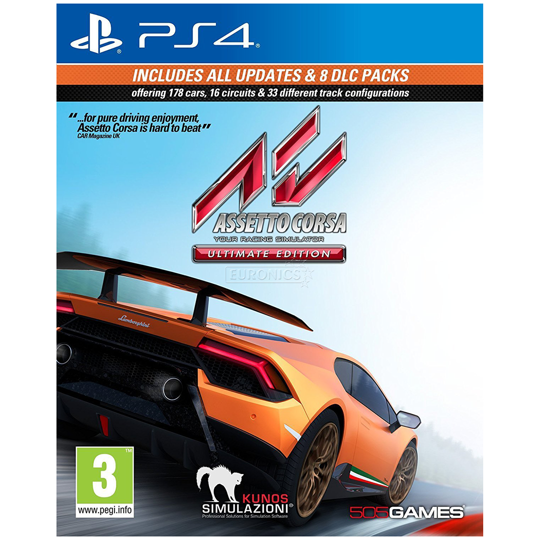 Ps4 Game Assetto Corsa Ultimate Edition 8023171041131
