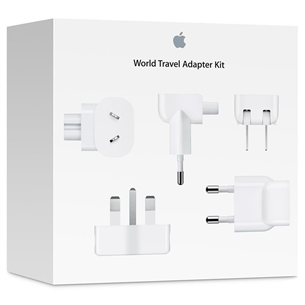 Комплект адаптеров World Travel Adapter Kit, Apple MD837ZM/A
