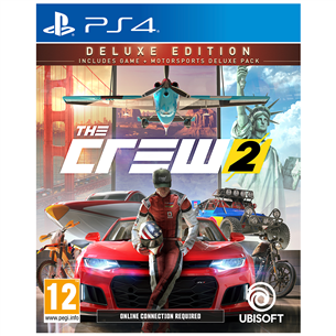 PS4 mäng The Crew 2 Deluxe Editon (eeltellimisel)