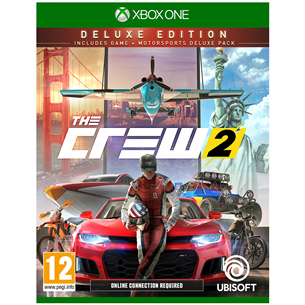 Xbox One mäng The Crew 2 Deluxe Edition