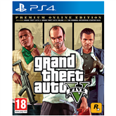 PS4 mäng Grand Theft Auto V Premium Online Edition