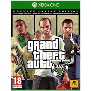Xbox One mäng Grand Theft Auto V Premium Online Edition