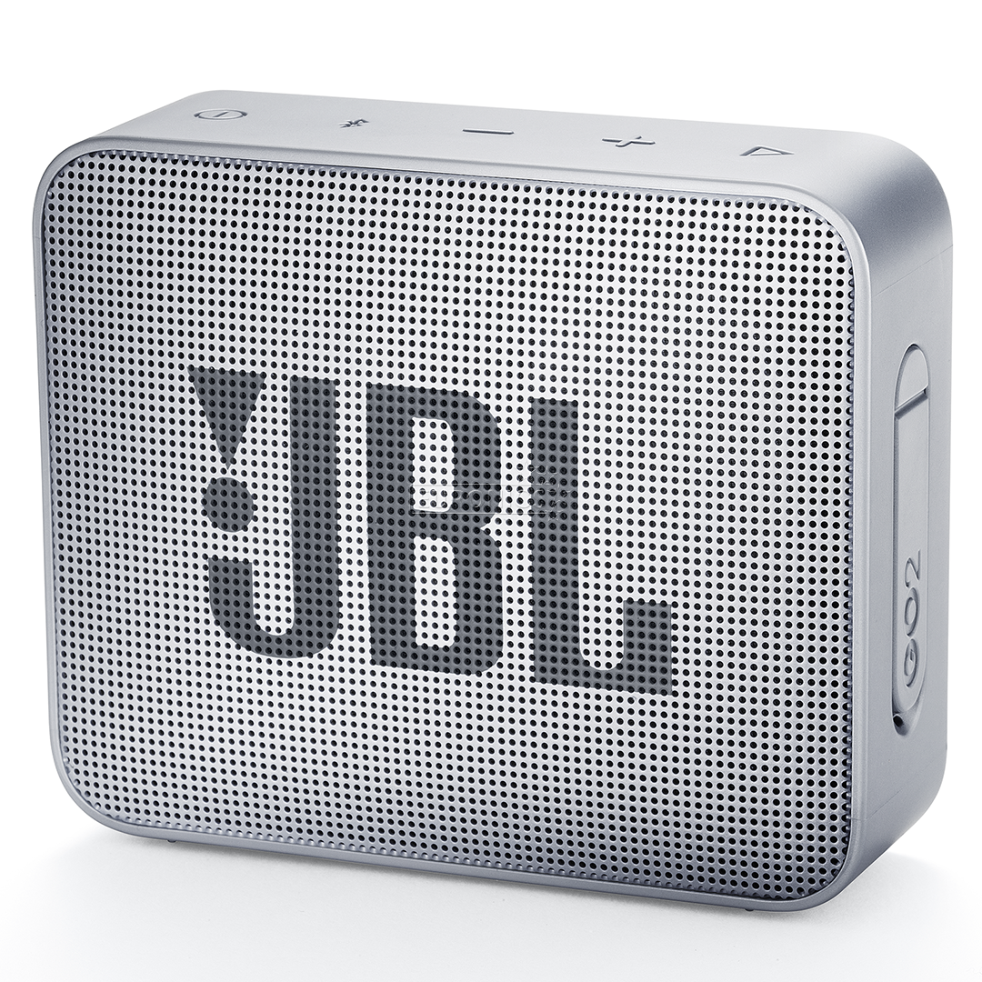 portable speaker jbl go 2 jblgo2gry. Black Bedroom Furniture Sets. Home Design Ideas