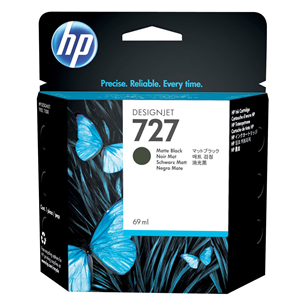 Tindikassett HP 727 (matt must)